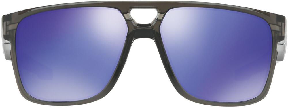 Oakley Crossrange Patch Sunglasses Grey Smoke/Violet Iridium 2018 Sonnenbrillen x6w4TO7CLU